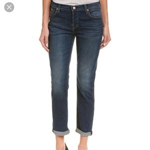 7 for All Mankind Josefina Boyfriend Skinny Jeans